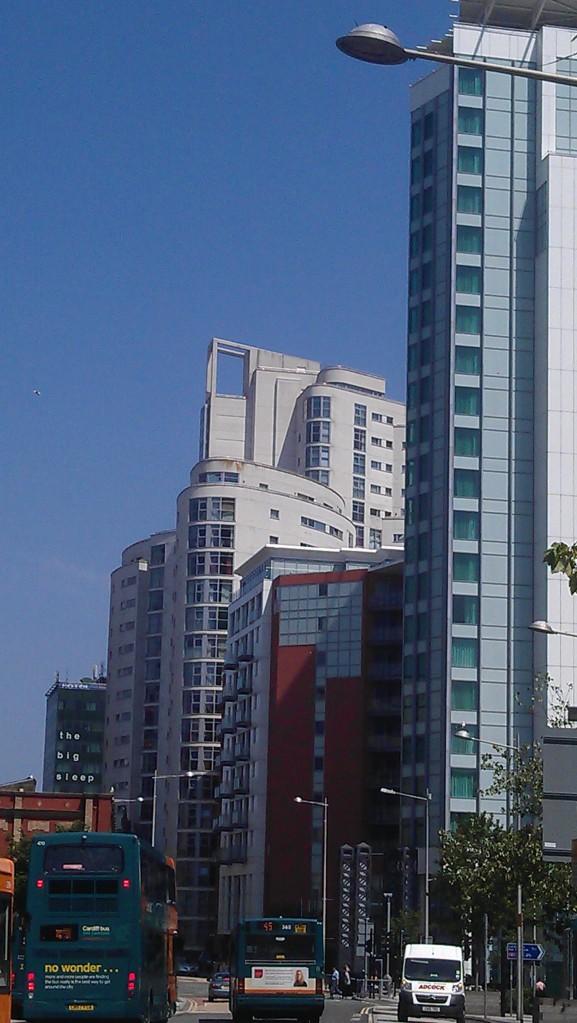 Manhattan Cardiff view