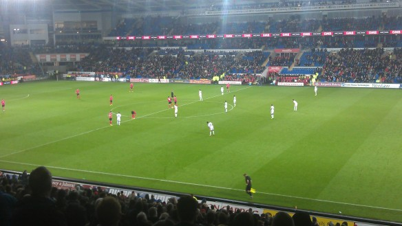 Cardiff City v Swansea City [4]