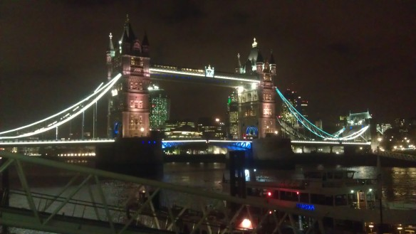 Xmas at Tower Bridge