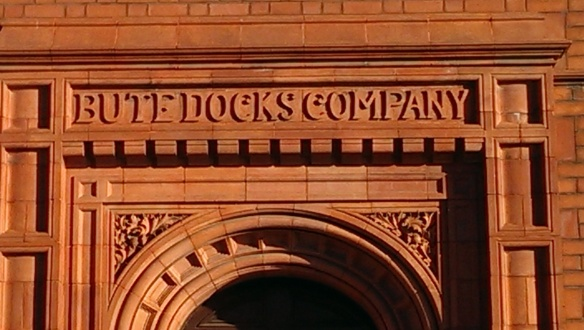 Bute Dock Company sign