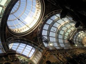 Leeds arcade roof detail