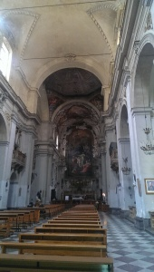Church interior on Via Maqueda