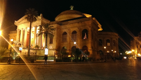 Teatro Massimo by night [1]