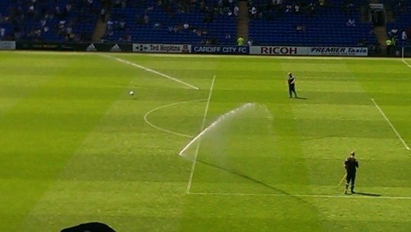 Watering pitch