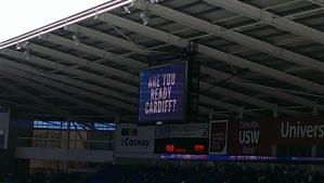 Are you readu Cardiff?
