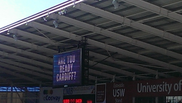Are you ready Cardiff? 2