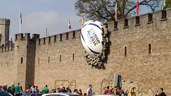 Castle rugby ball [1]