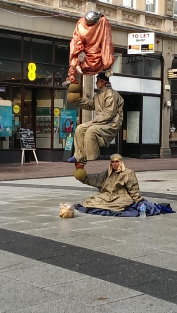 People,balancing act