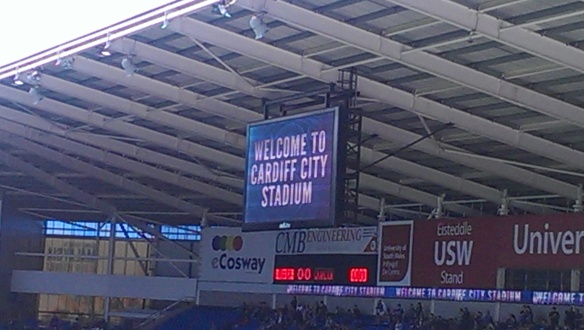 Welcome to Cardiff City Stadium