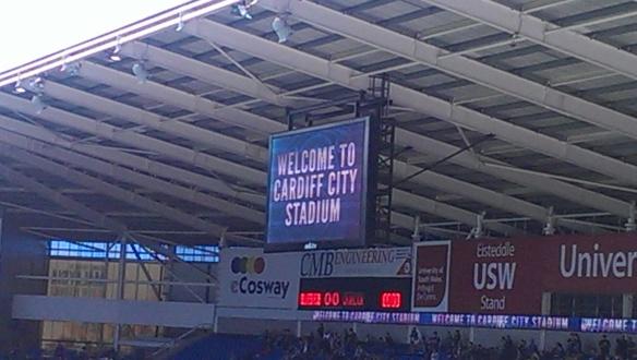 Welcome to Cardiff City Stadium