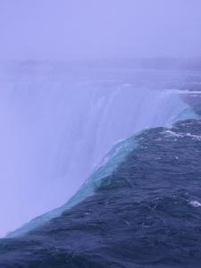 Canadian Falls edge