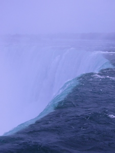 Canadian Falls edge