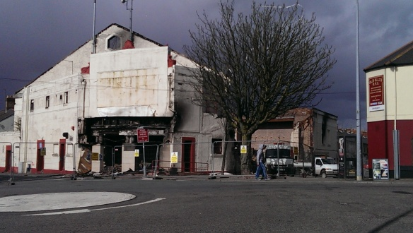 Splott Cinema after fire