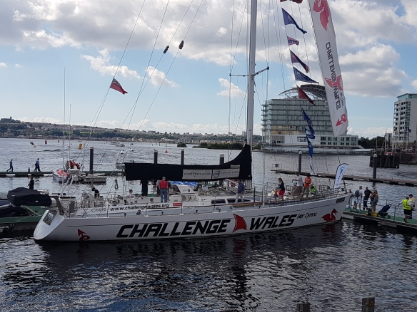 Challenge Wales boat