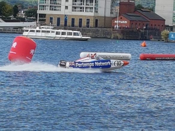Racing boat [8]