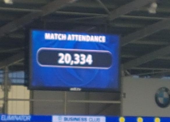 Match attendance