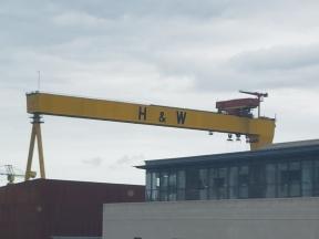 Crane from hotel