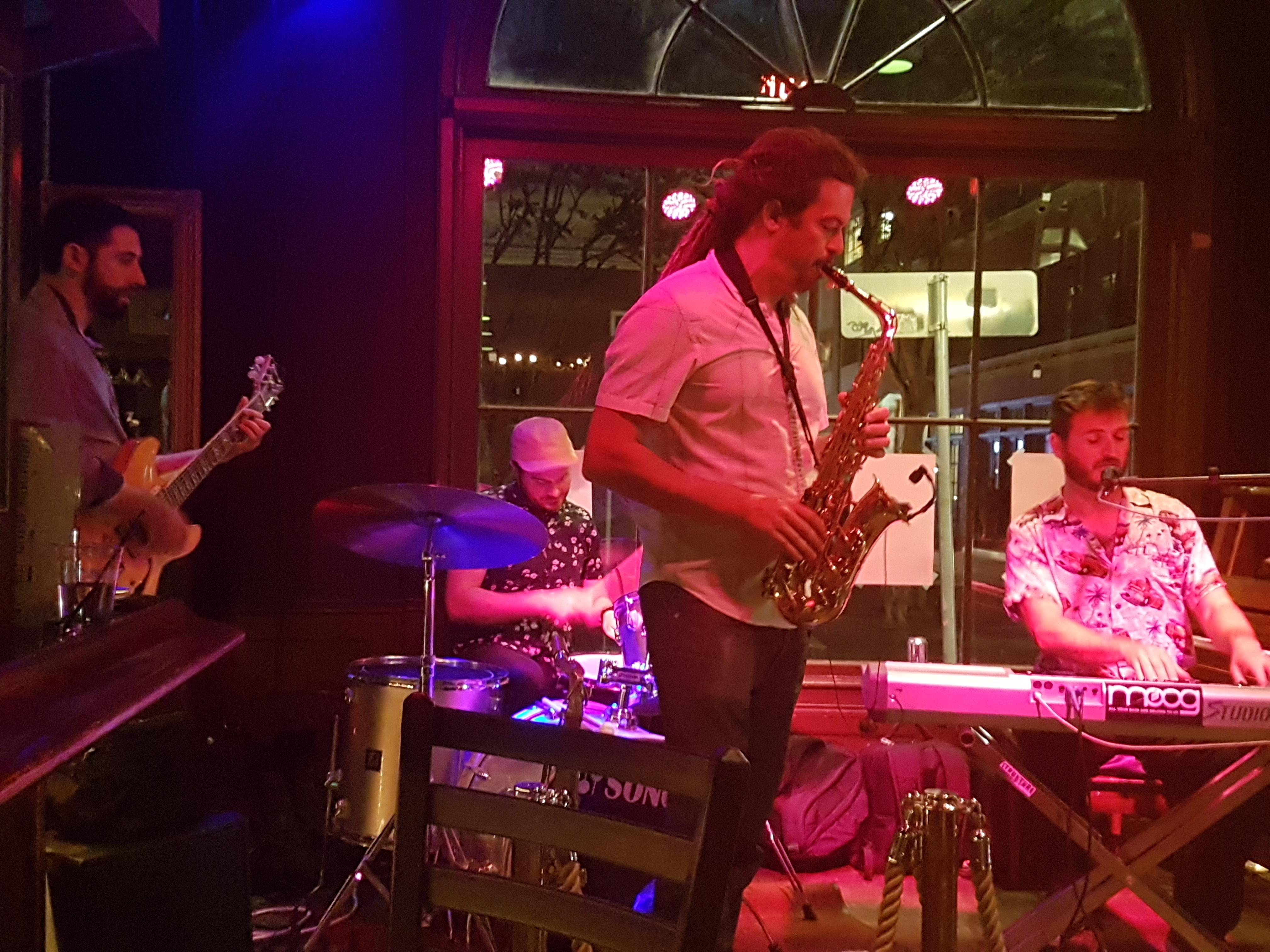 Jazz Funk guys at RF's