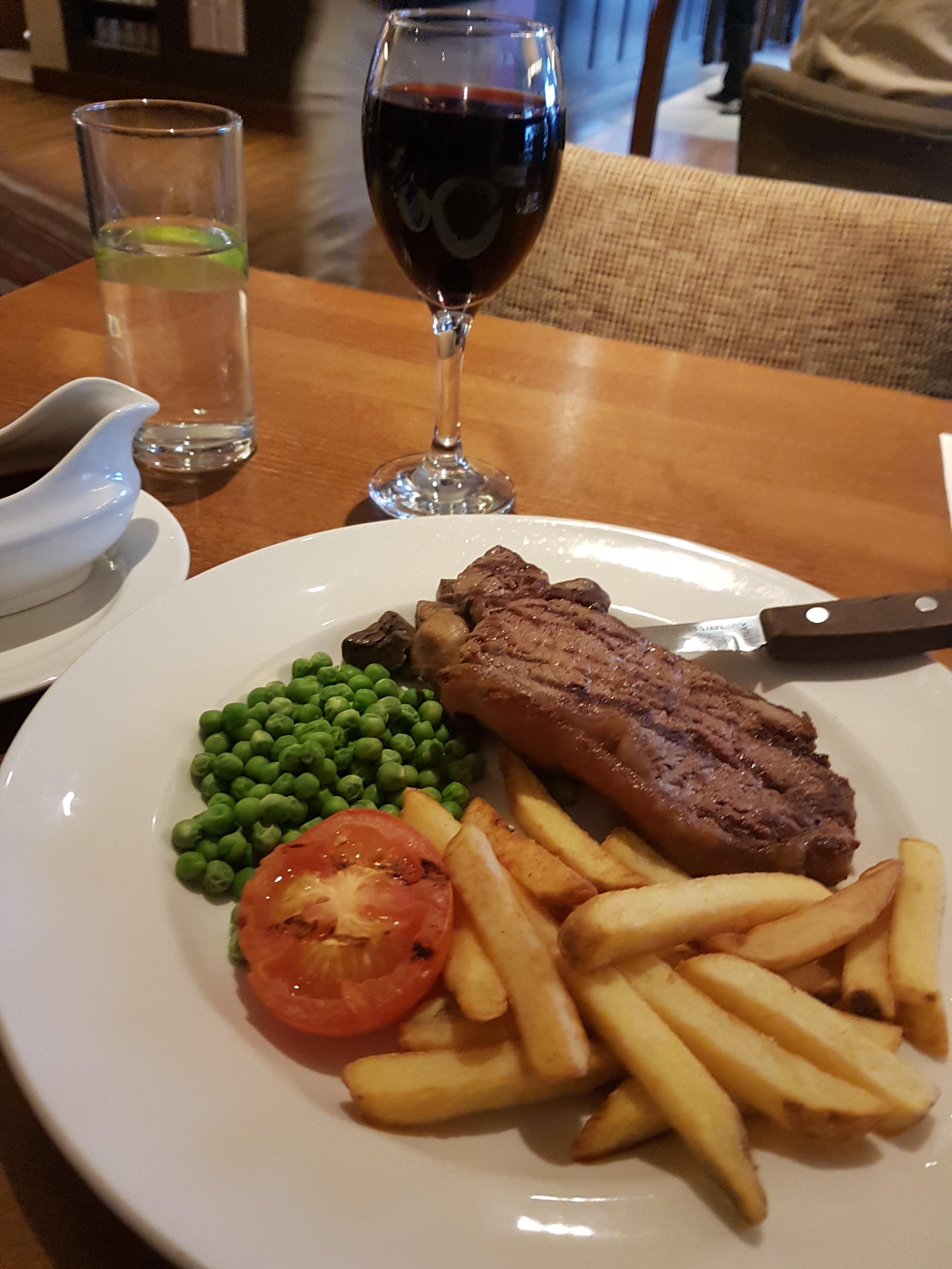 Premier Inn steak