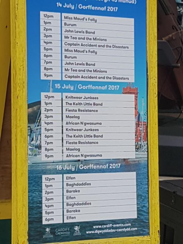 Food Festival 2017 music