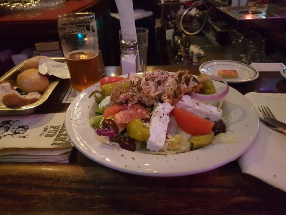 Millers Pub Famous Greek Chicken Salad