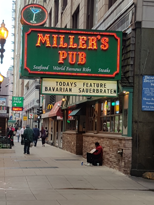 Millers Pub sign