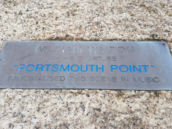 Porstmouth Point sign