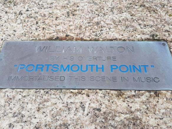 Porstmouth Point sign