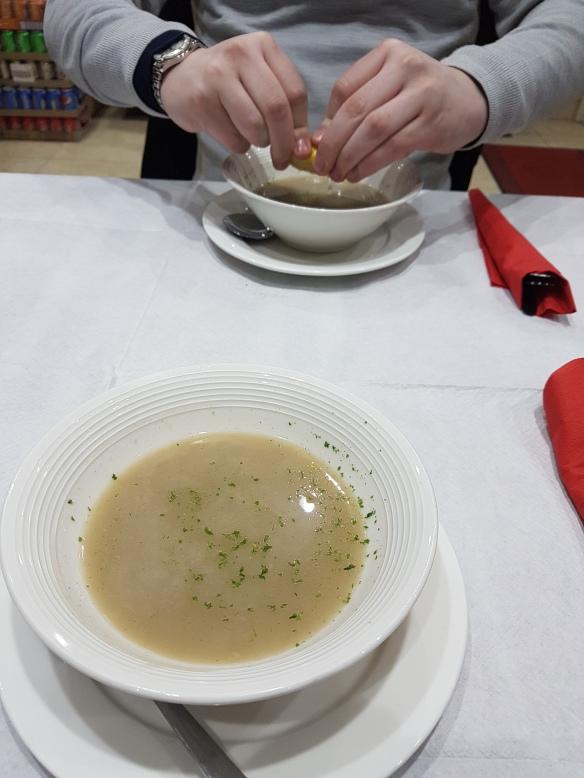 Free oat soup