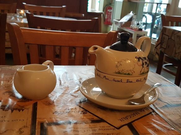 Strange teapot