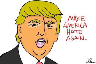 Hate again