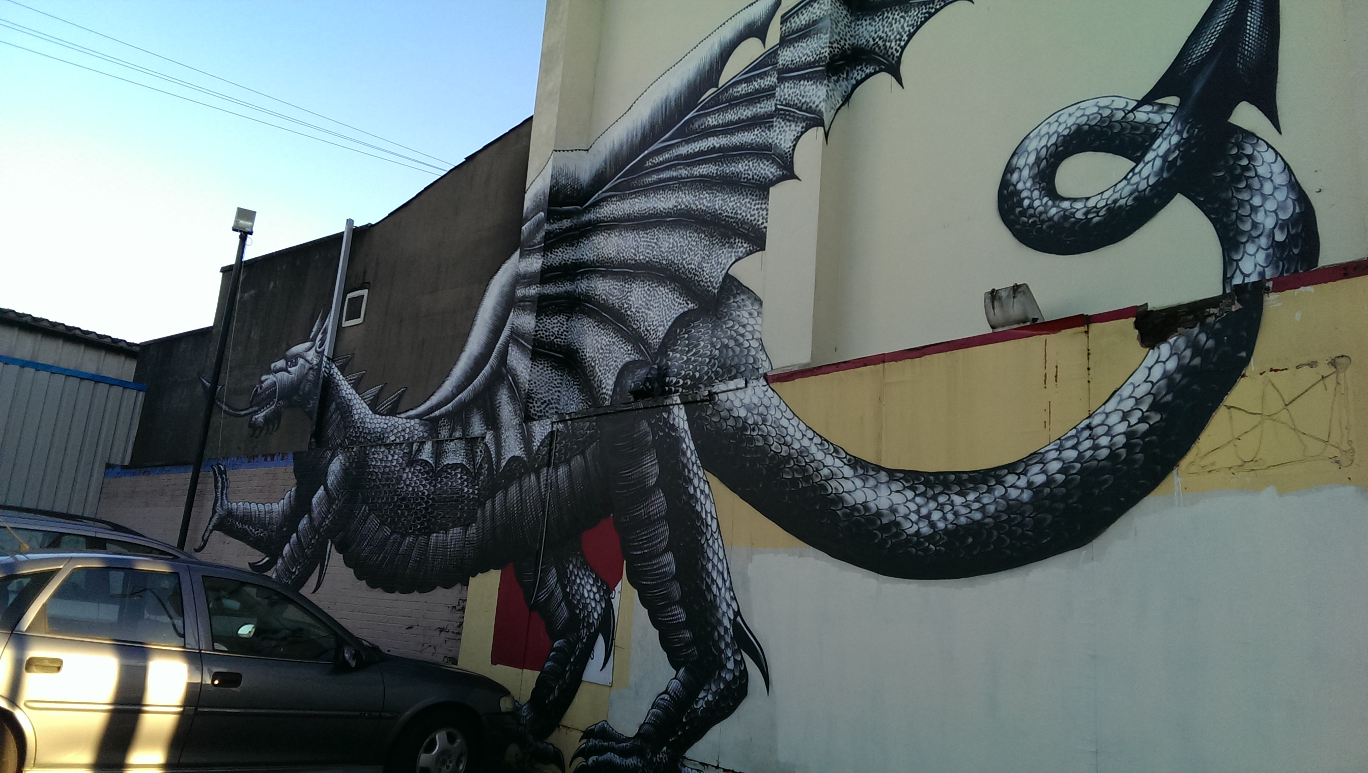 1. b) City Road dragon [2]