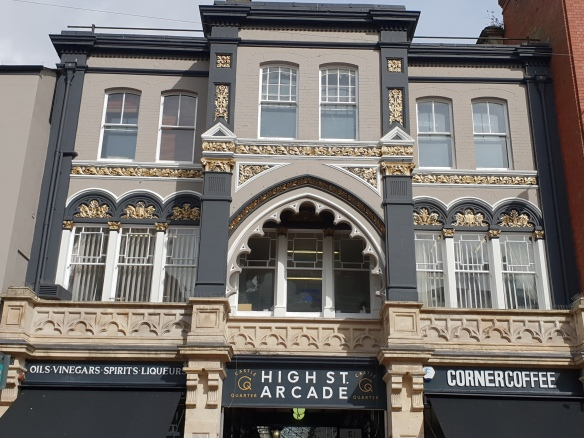 High St Arcade entrance 2018