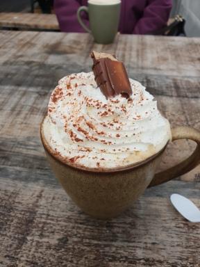 Hazelnut Bueno Latte