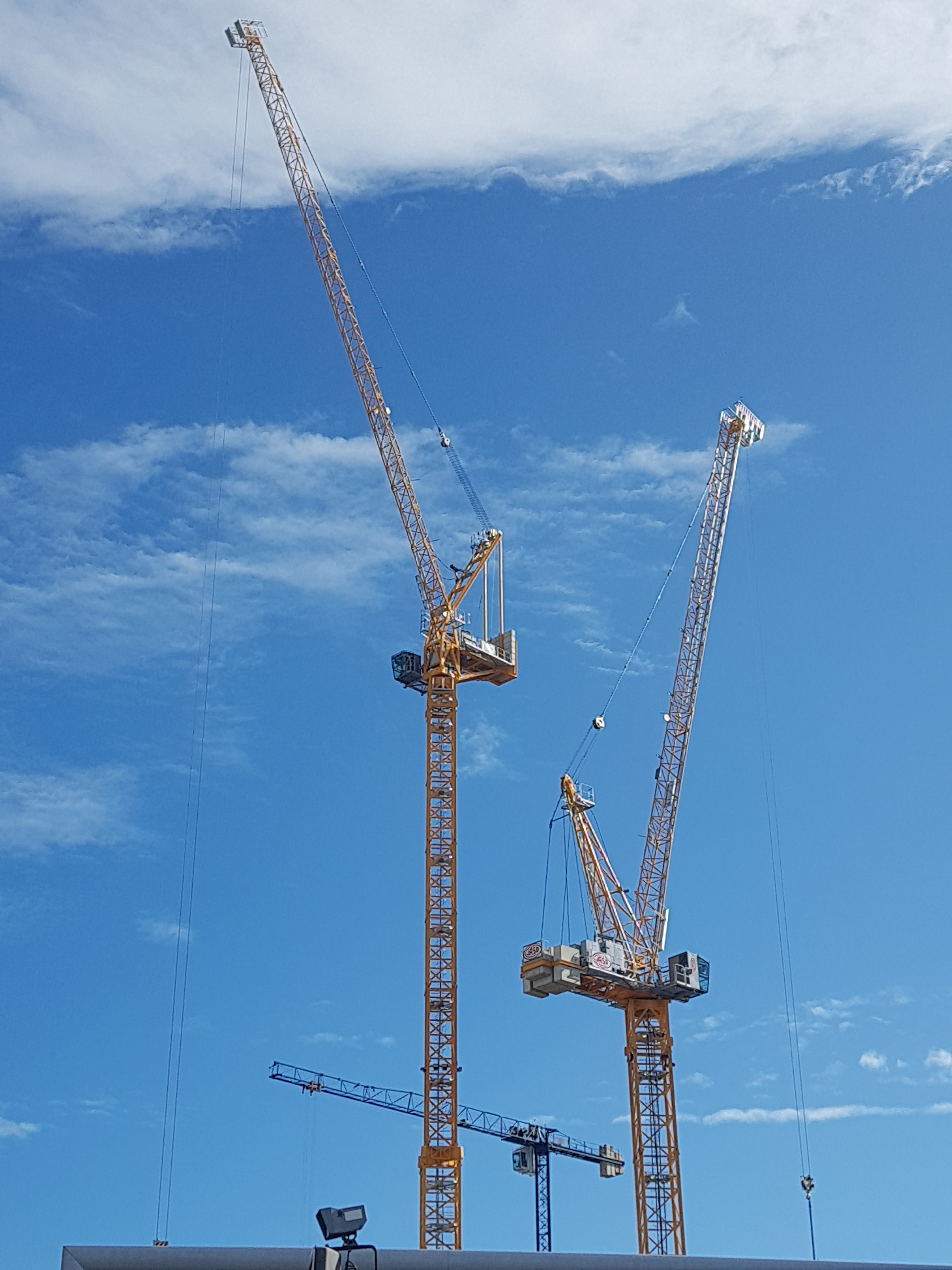 Cranes over Tindall Street [2]