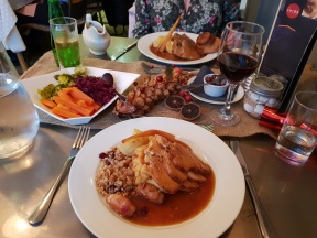 Turkey and Beef Xmas dinners