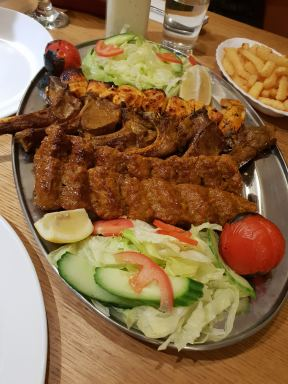 Mixed Kebab Shared Platter