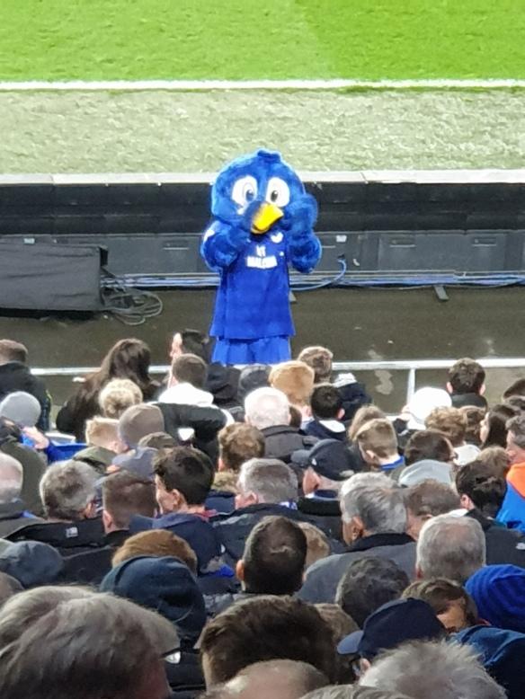 Bartley at Everton match