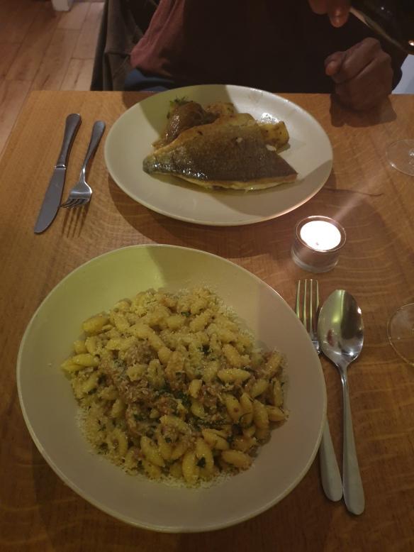 Canelloni Sausage Ragu