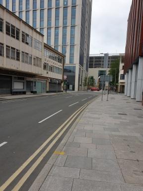 Towards Charles Street